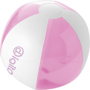 BONDI Beach Ball in pink and white with 1 colour print
