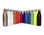 insulated drinks bottles in a range of colours