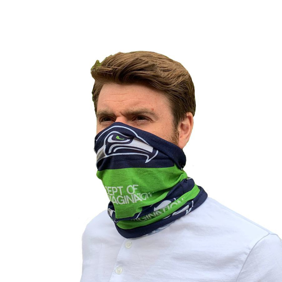 promotional snood printed face cover