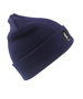Heavyweight Thinsulate Hat in navy with knitted double thickness