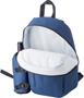 Backpack Cooler bag in blue opened